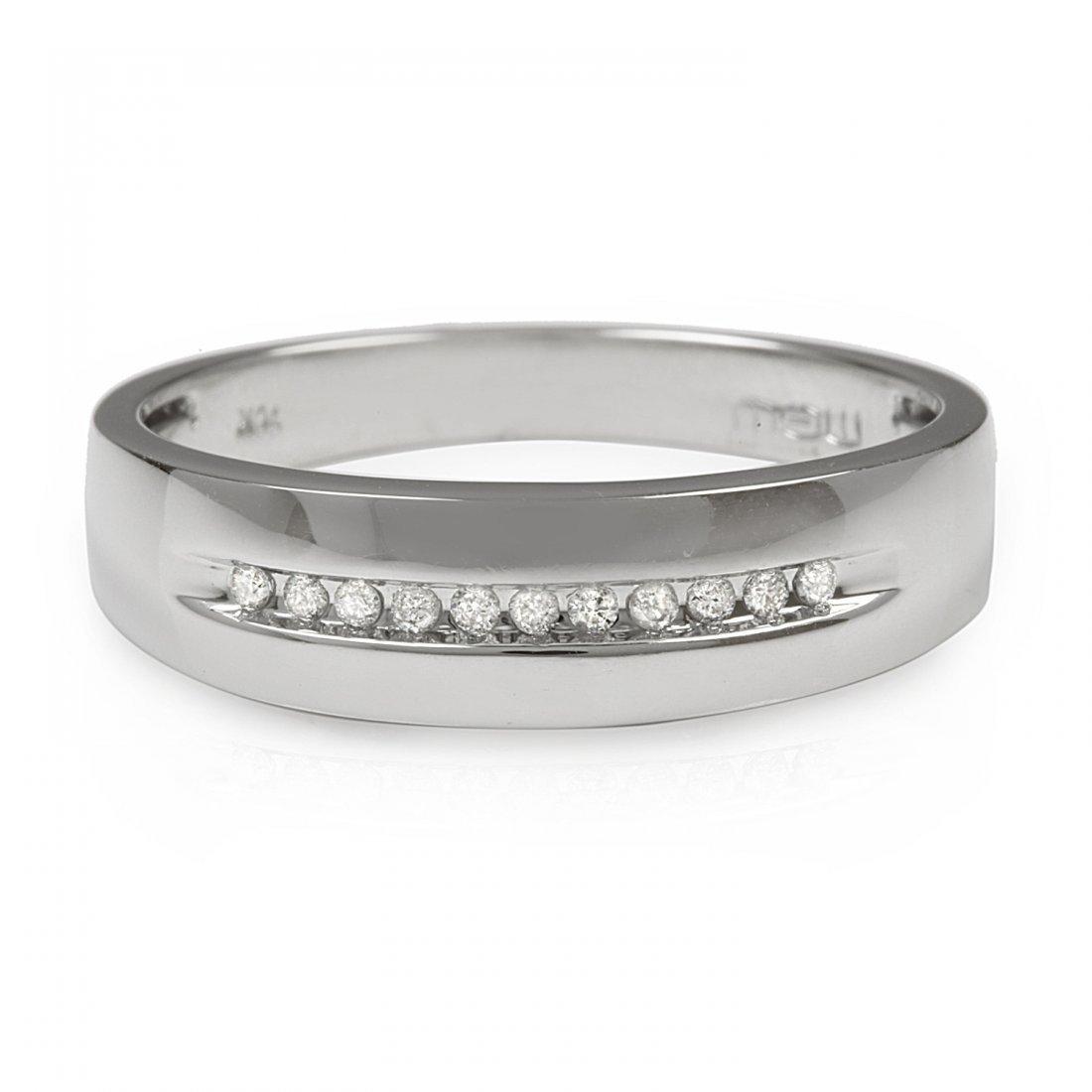 0.15CTW Diamond 10K White Gold Ring