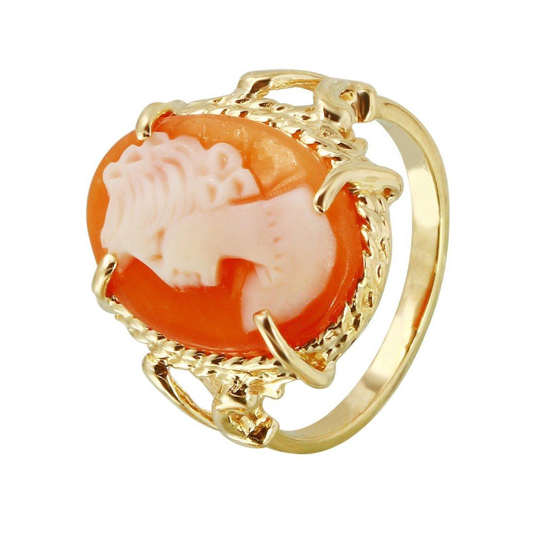 Ladies 14K Yellow Gold Ring