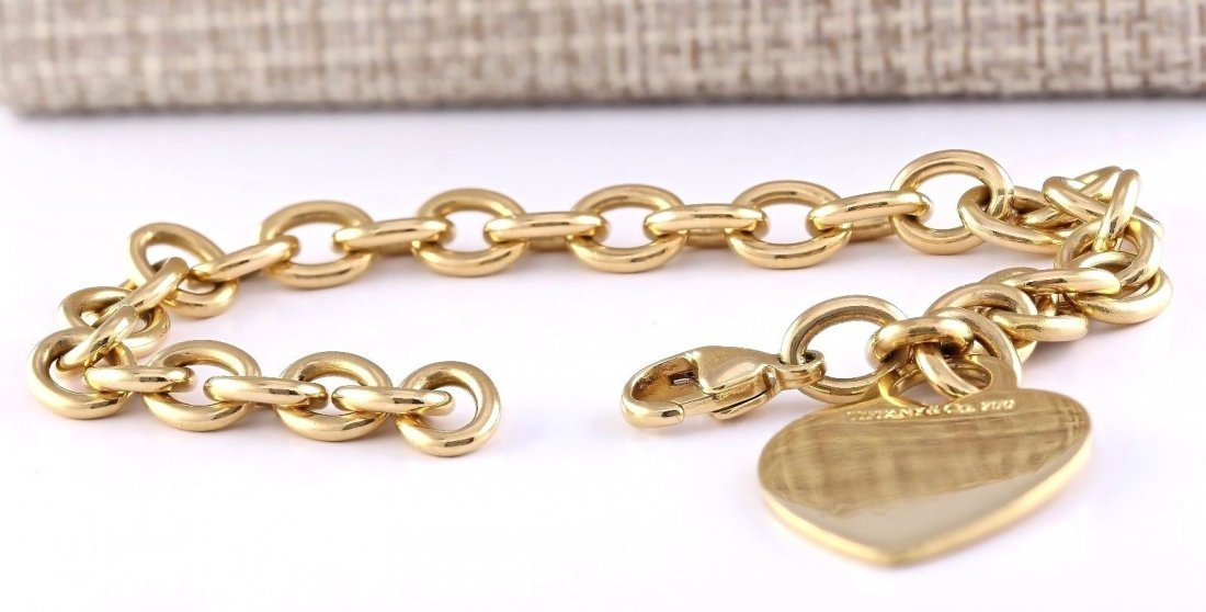 Authentic TIFFANY&CO 28 Gram 18K Yellow Gold Bracelet