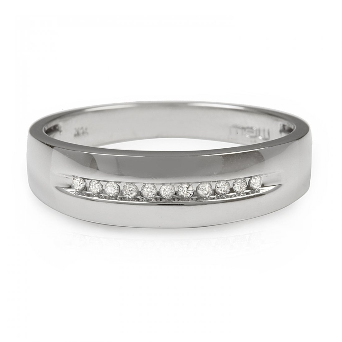 0.15CTW Diamond 10K White Gold Ring