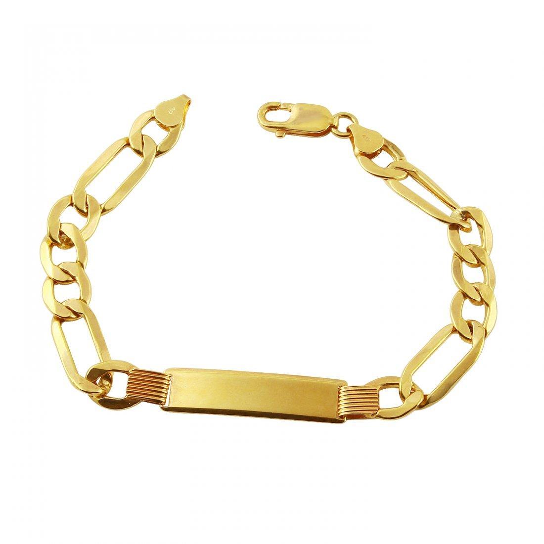 Mens 10k Yellow Gold Bracelet