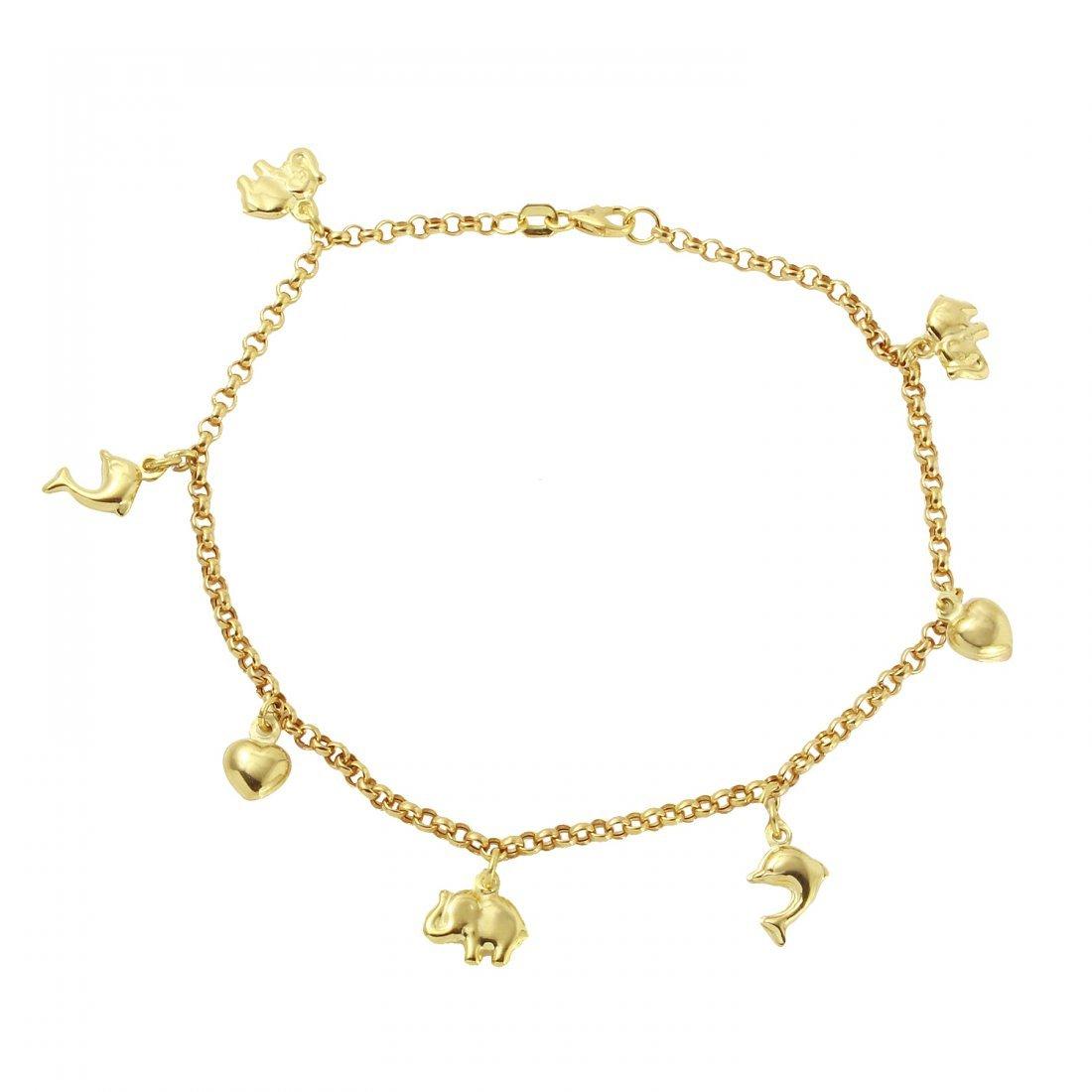 Ladies 10k Yellow Gold Bracelet