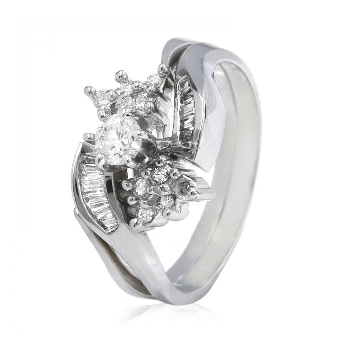 0.2CTW Diamond 14K White Gold Ring