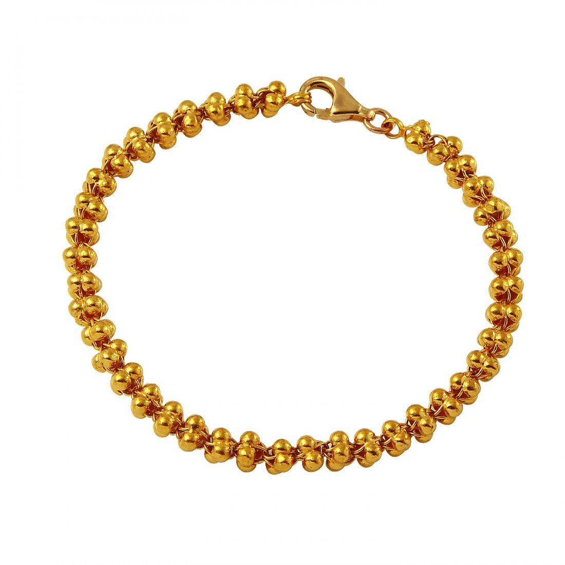 Ladies 23K Yellow Gold Bracelet