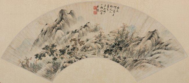 Wang Jian (1598-1677) Landscape