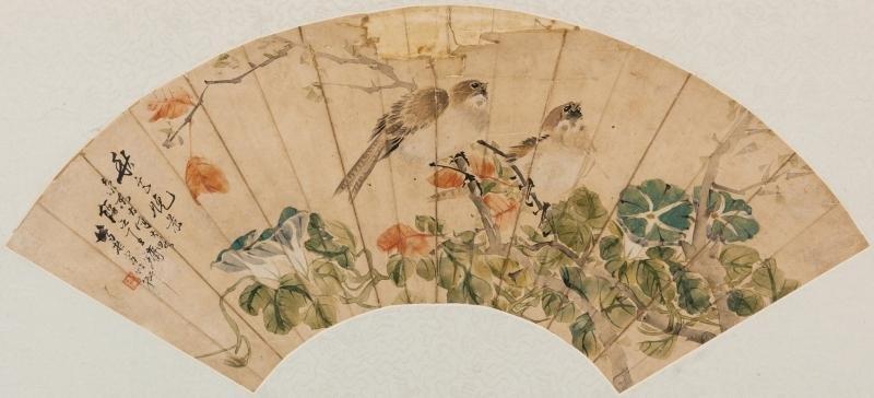 QING - WANG YONG (1865) BIRDS AND FLOWER