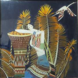 VINTAGE CHINESE ART PAINTING