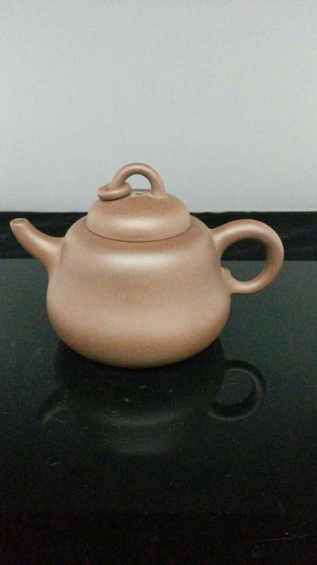 A Vintage Chinese YiXing Teapot