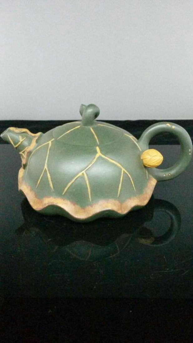 A Vintage Chinese YiXing Teapot 蔣蓉