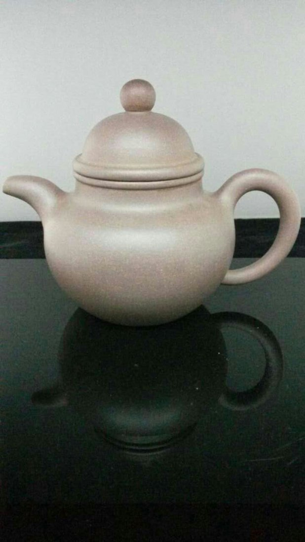 A Vintage Chinese YiXing Teapot 壽珍&#27454