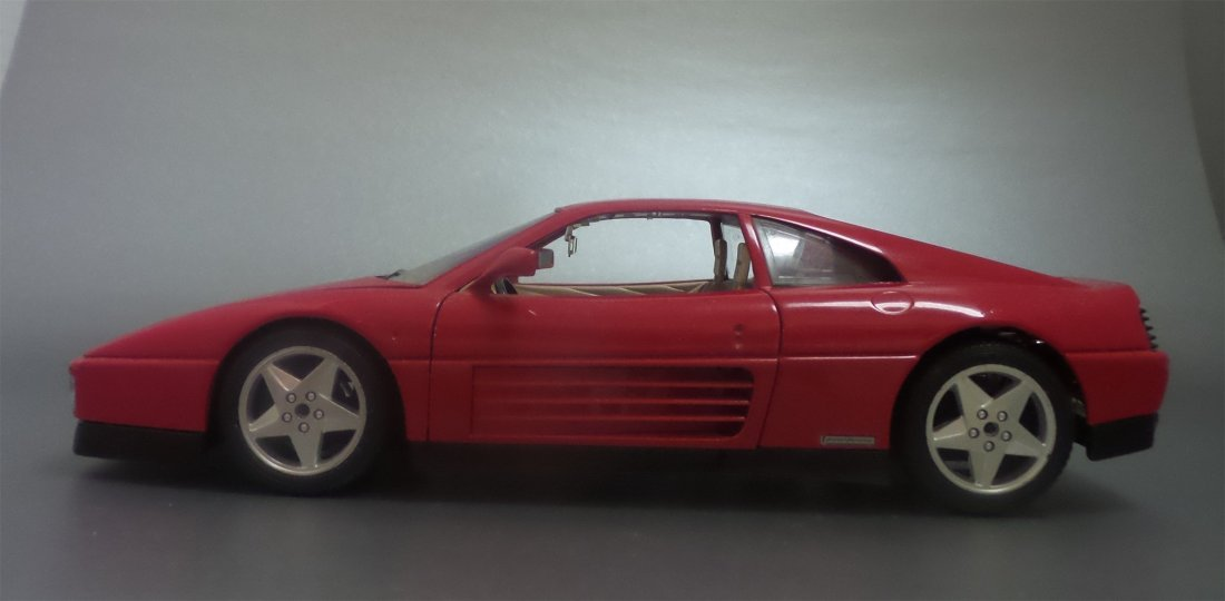 VINTAGE AMT 1989 FERRARI 348 MADE IN ITALY