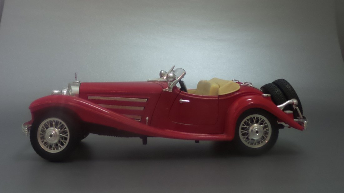 VINTAGE ART 1936 MERCEDES-BENZ K500 MADE IN ITALY