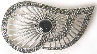 Vintage Sterling Silver Brooche