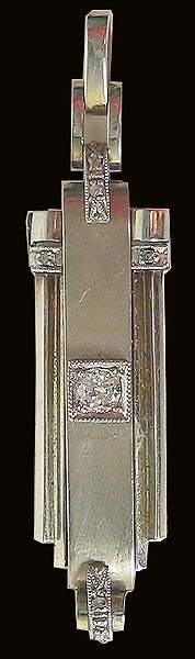 Antique Gold Diamond Pendant