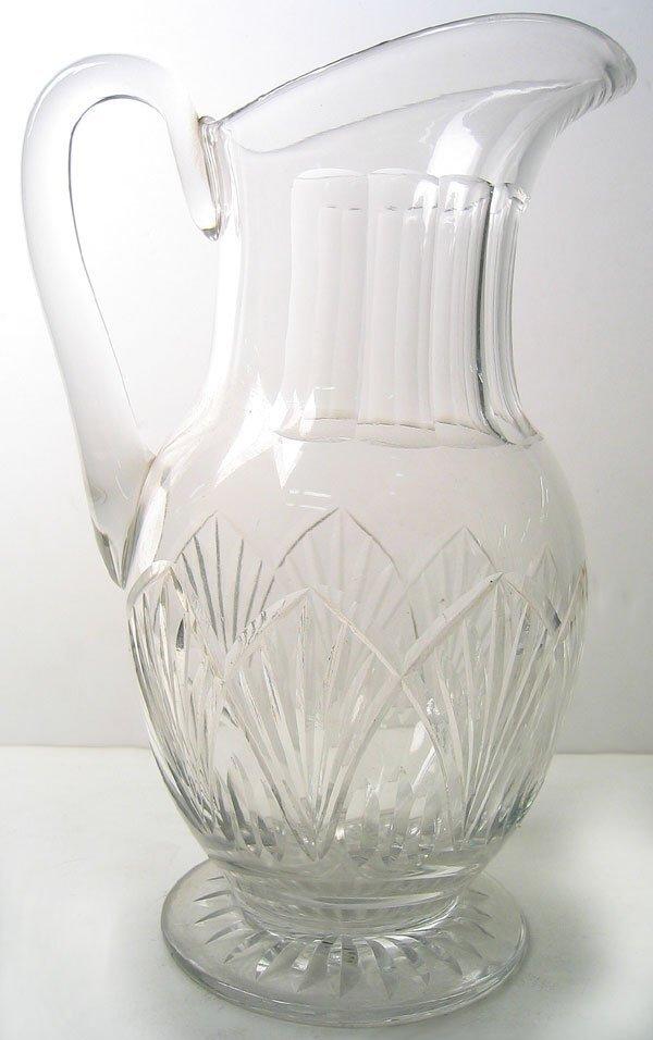 2960: Cut Glass pitcher