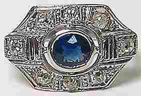 5493: Antique Victorian Gold Diamond  Ring