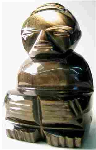 Tiki Art glass figure