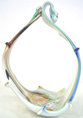 7950: Artistic glass unsigned - 2