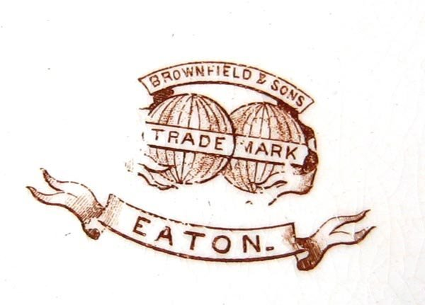 7967: Group of Brownfield & Sons china - 2
