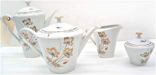 """Fine Bavarian """"Tirschenreuth"""" coffee / tea set"""
