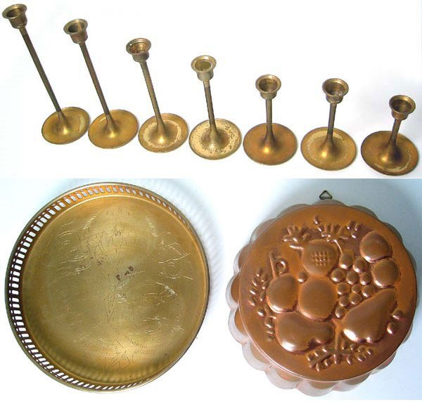 1969A: Lot of Nice Brass items