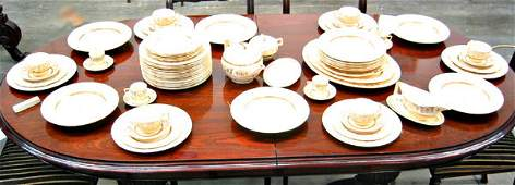 2275: Johnson Bros England china dinner service