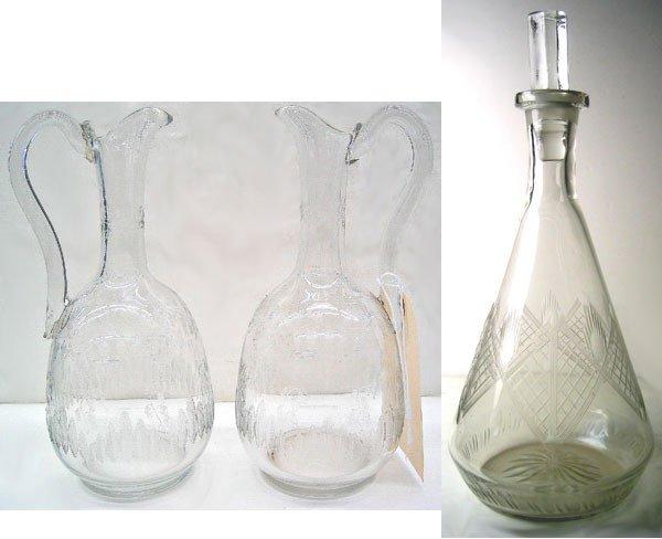 2981: Lot of Art Deco glass