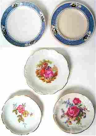 Lot of porcelain plates