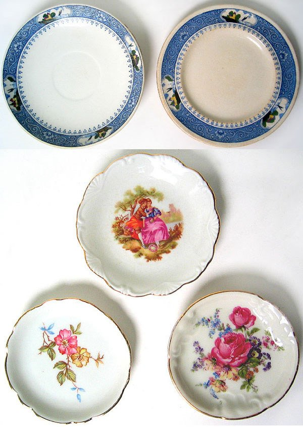 2989A: Lot of porcelain plates