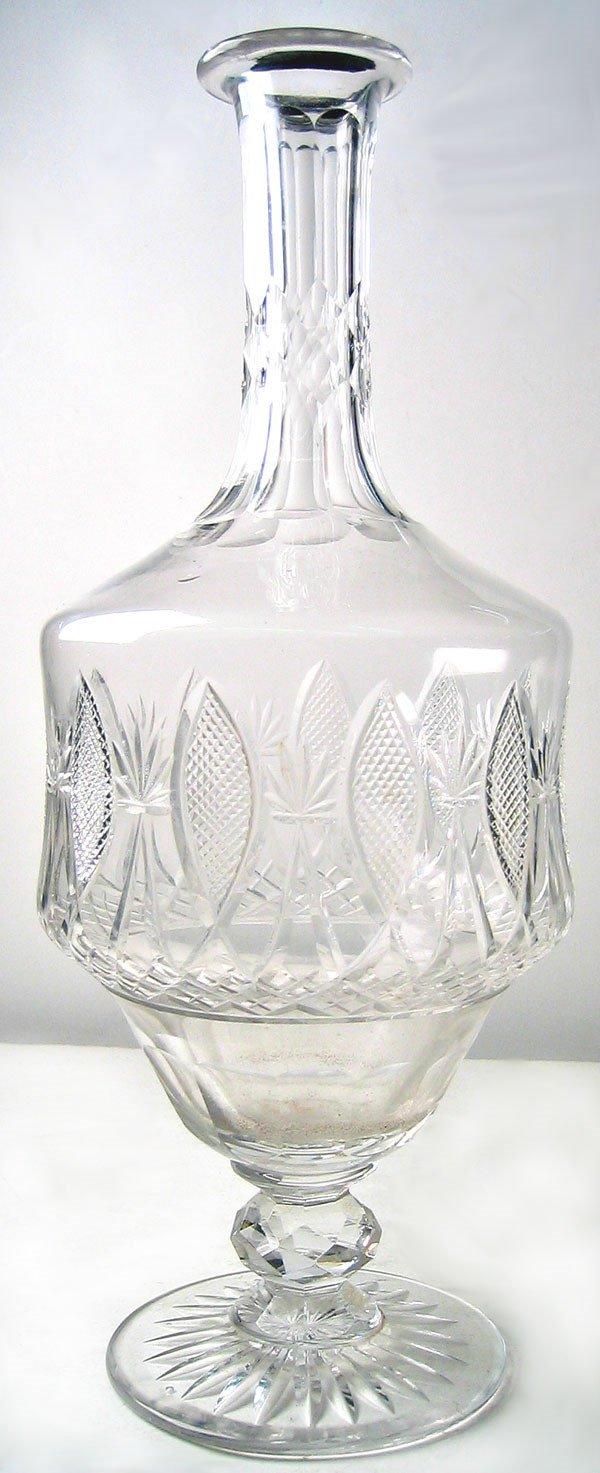 3004: Cut glass decanter