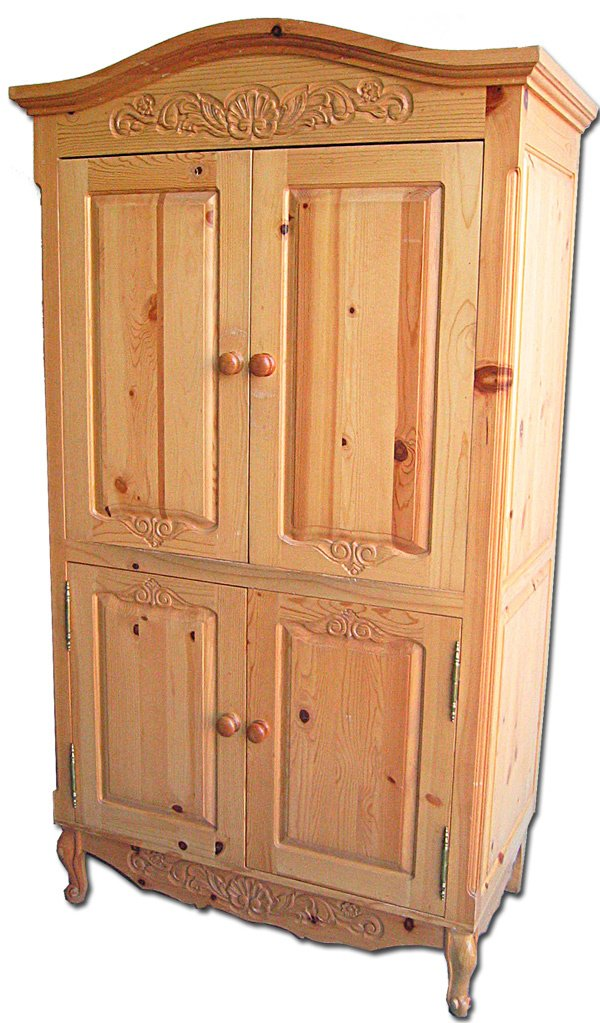 12: Country French armoire