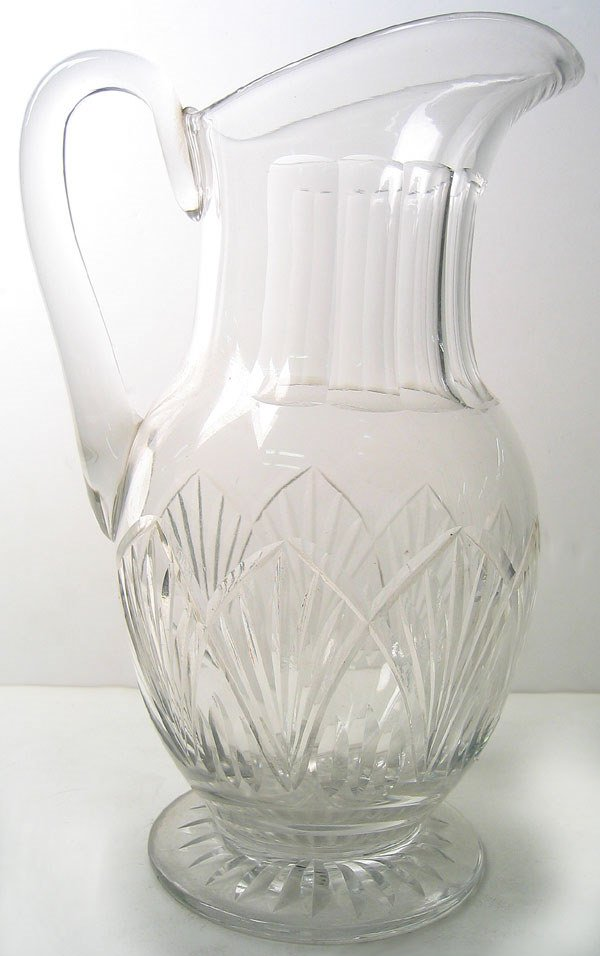 13: Cut Glass pitcher