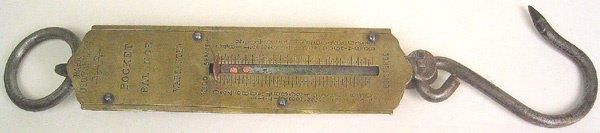 15: Antique gravity scale