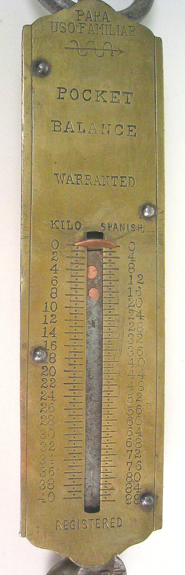 15: Antique gravity scale - 2