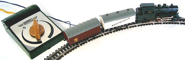 19: Original boxed toy train