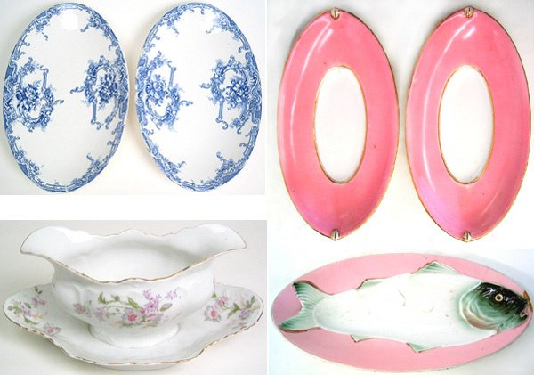 1020: Lot of Porcelain dishes