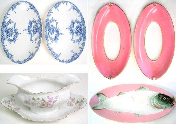 4020: Lot of Porcelain dishes