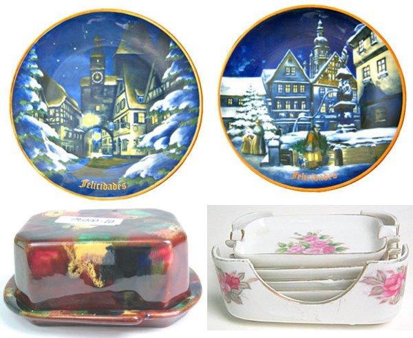 4021: Lot of Porcelain dishes