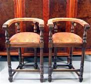 4172A: Pair of 1960's Bar Stools