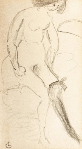 Gulacsy Lajos, 1882-1932, The Black Tight