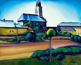 Ilosvai Varga Istvan, 1895-1978, Nagybanya, 1929