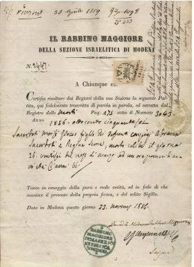 Sicily Kingdom 1823 passport Naples/Vienna