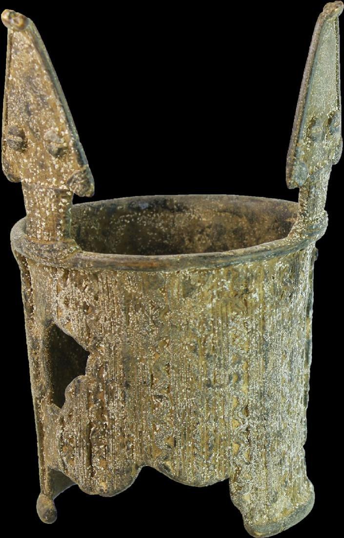 BURKINA FASO BOBO PEOPLE 1800 AD SNAKE SPIRAL BRACELET