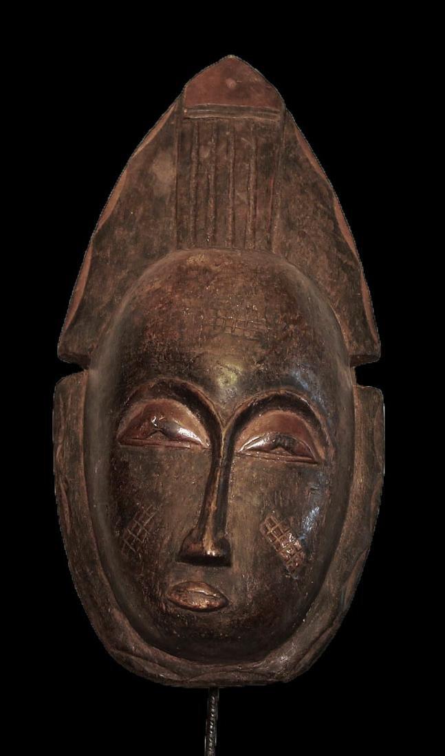 Baulè people Wall mask  46 cm 18 inch