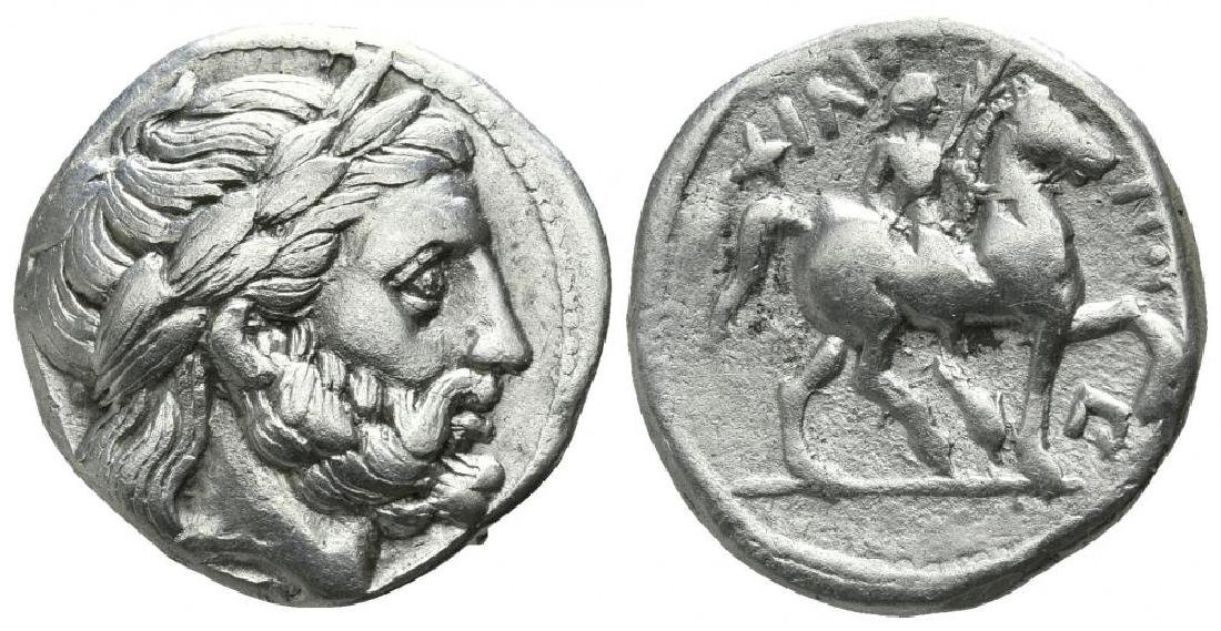 Kings of Macedon. Amphipolis. Philip II. 359-336 BC.