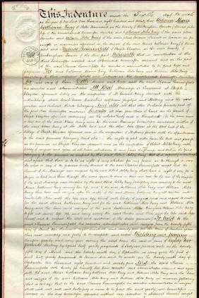England High Wycombe 1873 Lease of land Revenue 10 Sh