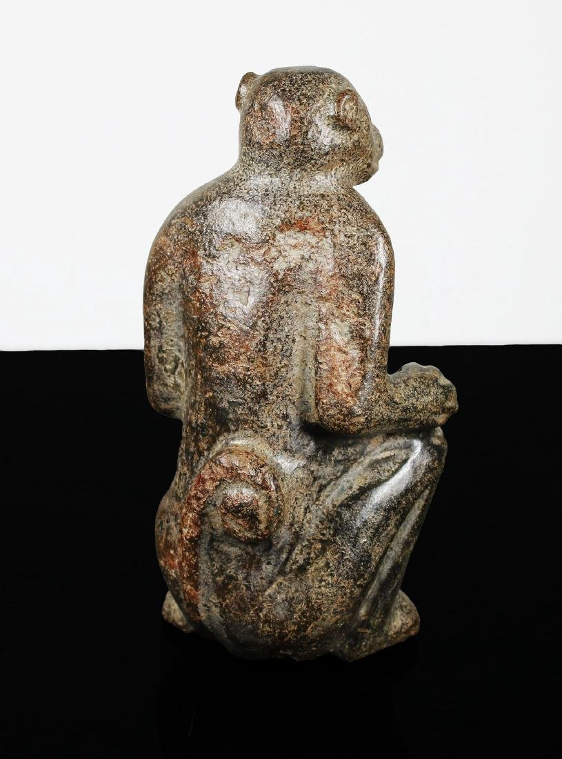 Archaic Jade statue Hongshan culture style Late Ming - 3