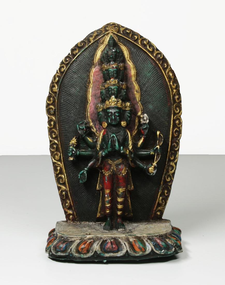 Tibet Temple statue 1950