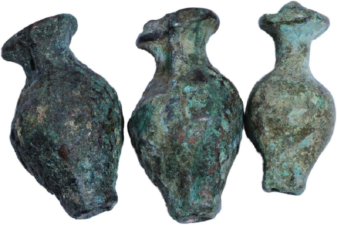 BRONZE PERFUME VASES TANG DYNASTY 618-900AD