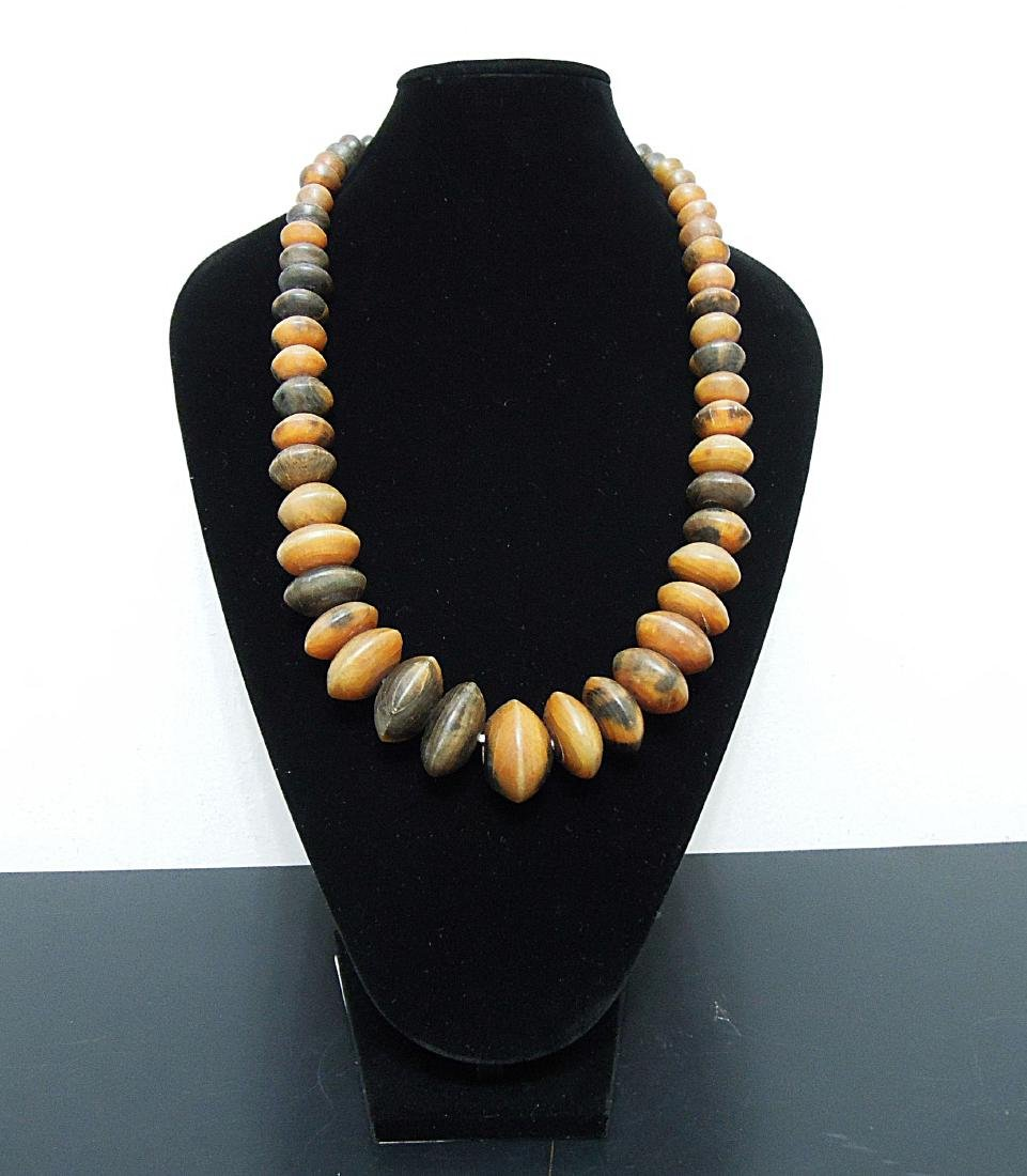 Niger 1970 circa. Handmade Buffalo bone necklace